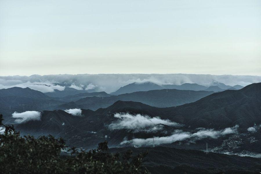 Mountains Darkness Getting Inspired EyeEm Best Shots - Nature Clouds And Sky EyeEm Best Shots - Landscape Monochrome