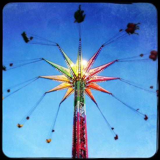 Rides Rides At Fair County Fair Countyfair IPhoneography Outdoor Photography Outdoors Having Fun Having Fun :) Swinging