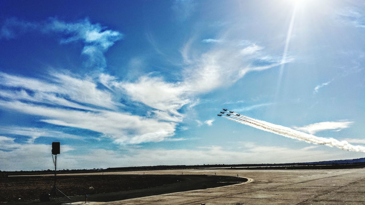 Blue Sky Blue Angels Air Show MIRAMAR  Miramar Air Show Blue Angels US Navy US MARINES Fighter Jet US Air Force PhonePhotography