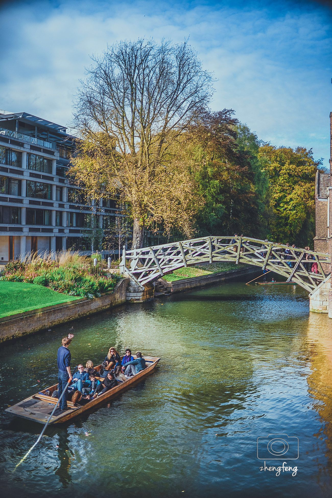 Cambridge Mathematical Bridge Feel The Journey My Favorite Place People And Places