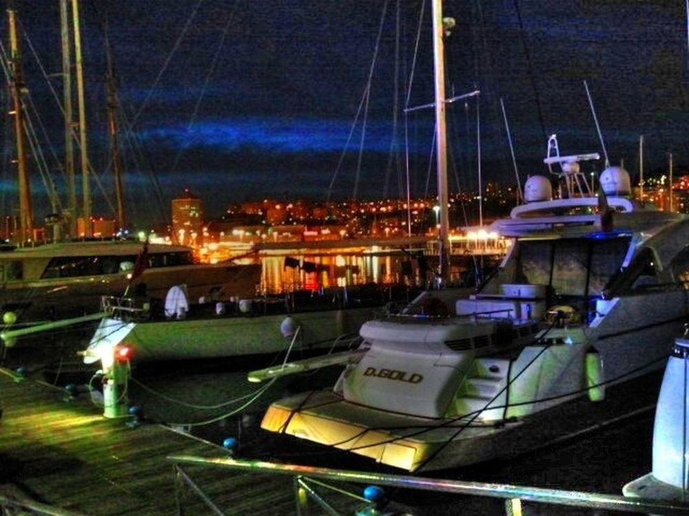Yatch Nightphotography Hdr_Collection Colors Of The Night
