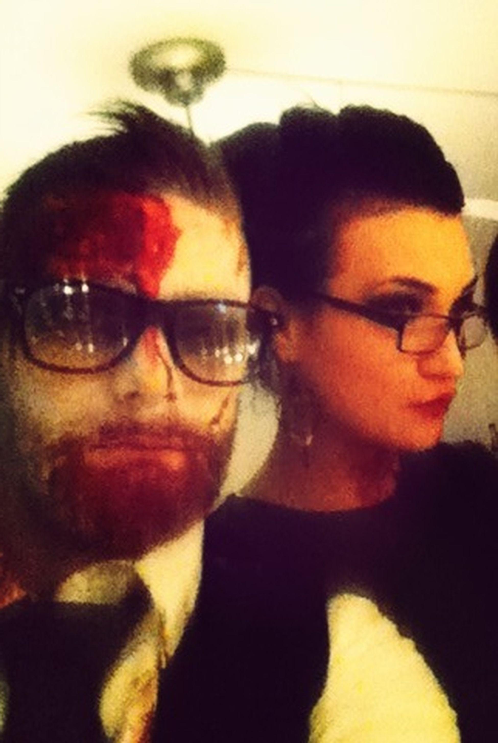 Happy Halloween! Bloody Faces I Like It Wild ?