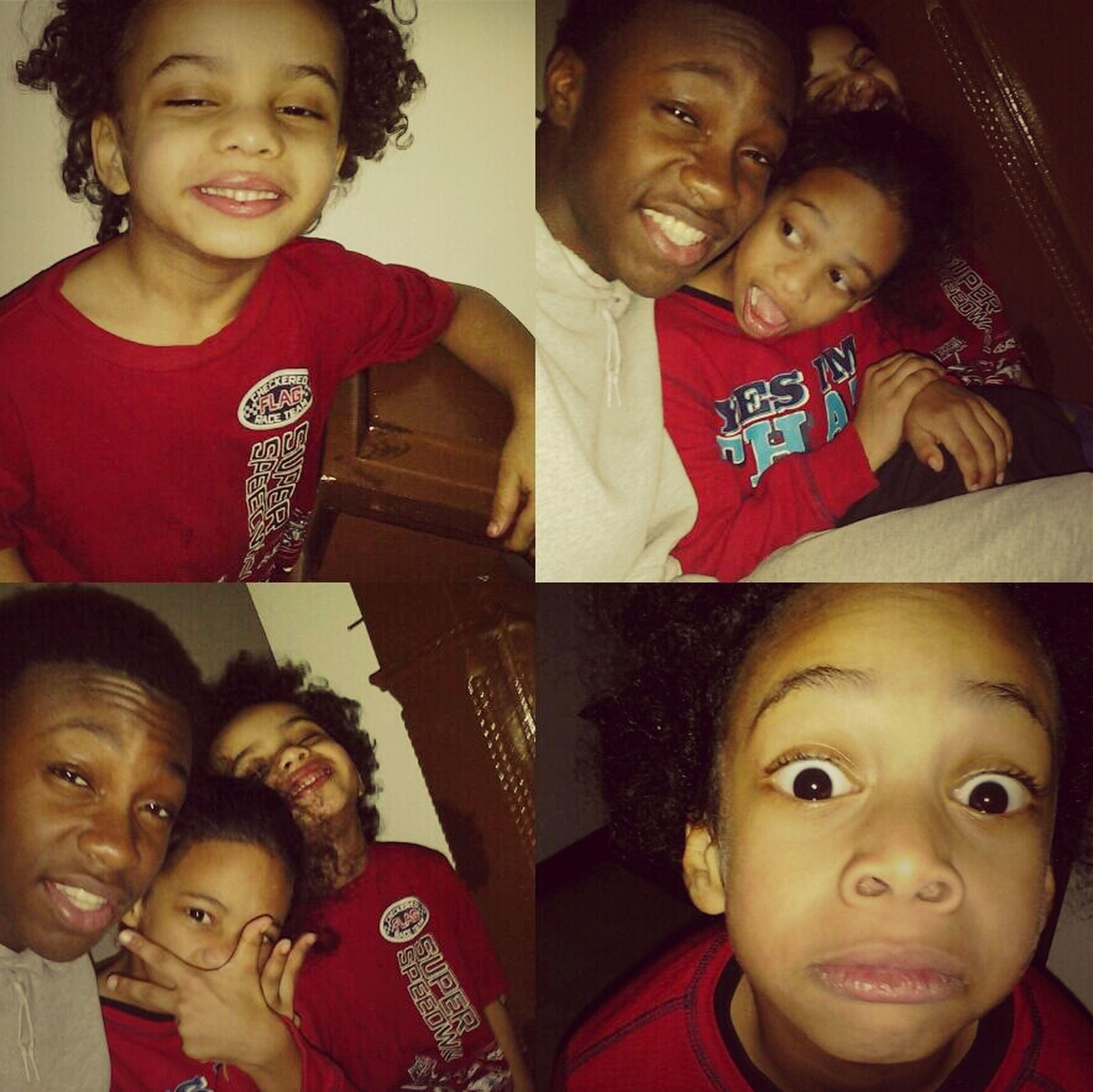 me & my nephews Marcus & Anthony .