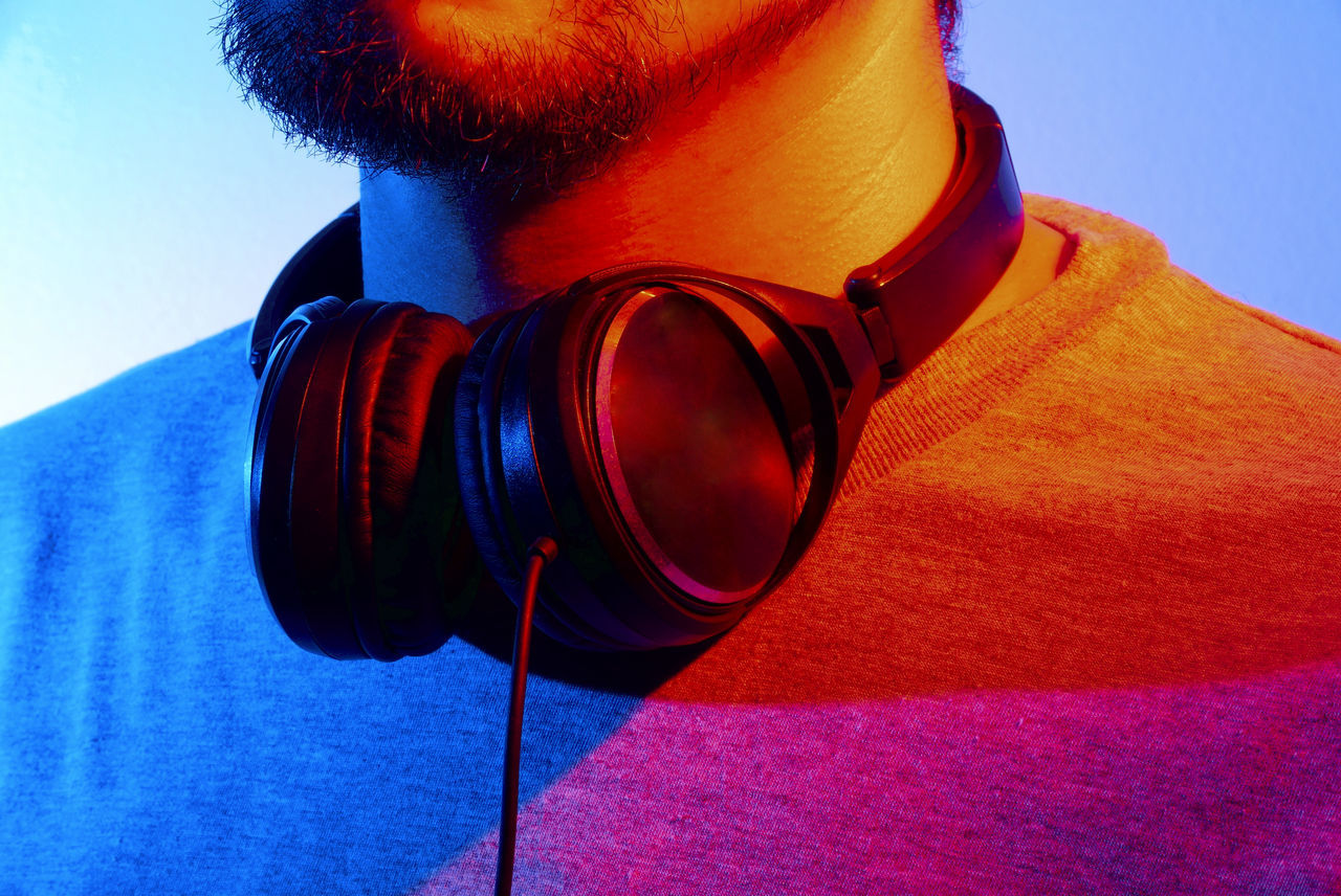Beautiful stock photos of party, Arts Culture And Entertainment, Beard, DJ, Front View
