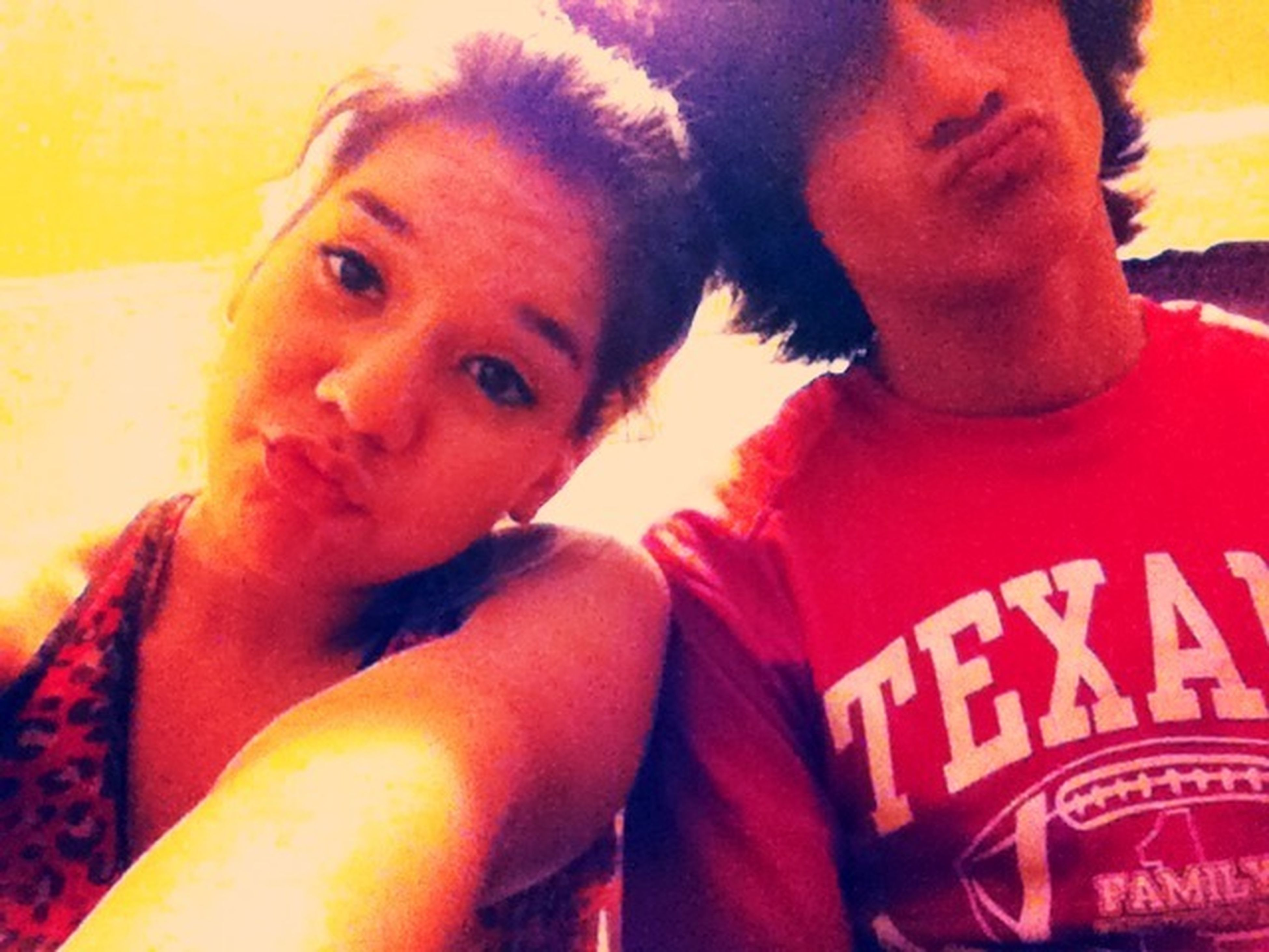 Throwback. My Girlfriend & I (: