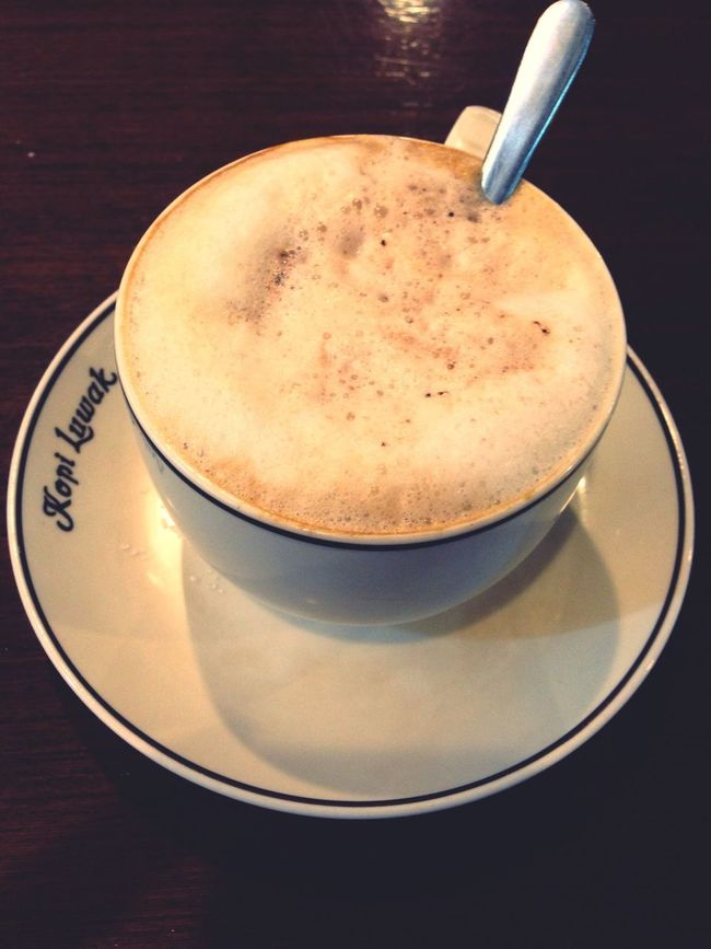 Hot Cappucino at Kopiluwak