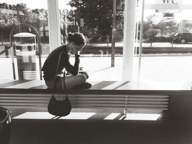 Lesen und warten