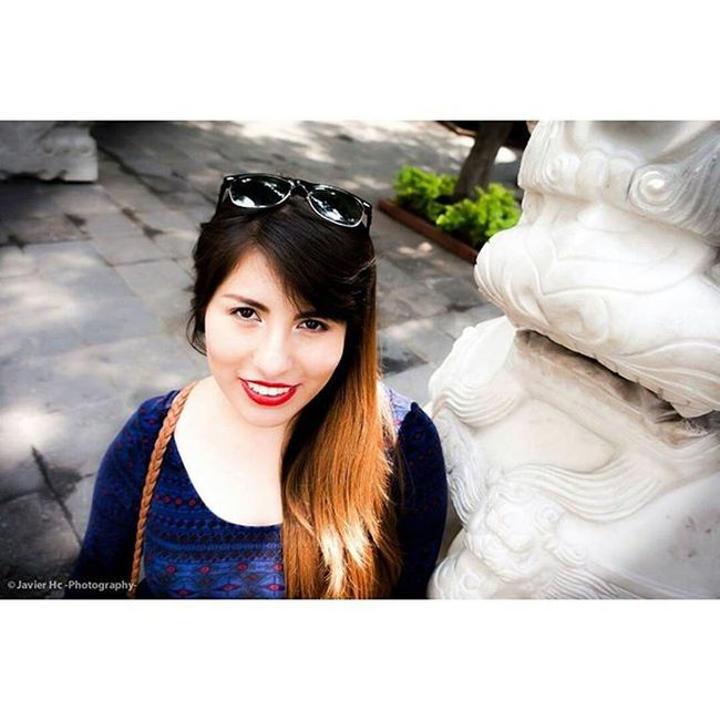 Model: @annis7460 Sweet Girl Cute Pretty Mx  Chinatown Df Mexico Instamex Instasize Like Fotografia Mifotografia JavierHcPhotography Photography Alpha3500