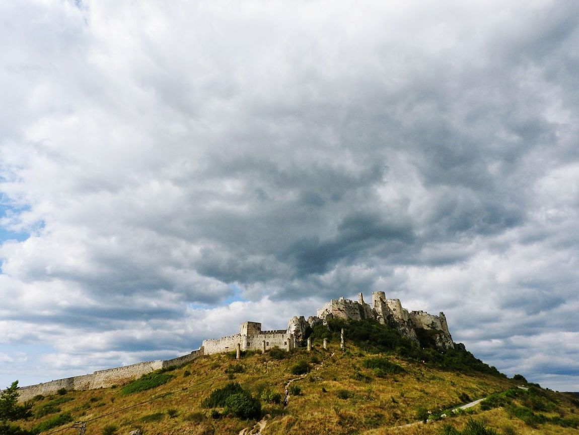 Bad mood over the Spis Cloud - Sky Rock - Object Dramatic Sky Ancient Beauty In Nature Nature Scenics No People Mountain Peak Landscape Spiscastle Spissky Hrad Spis Castle Spisskyhrad Spisskepodhradie Castle