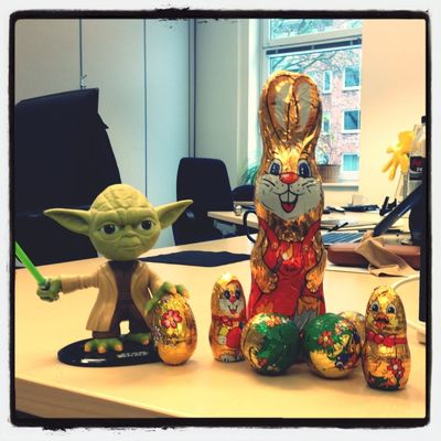 Ostern kann kommen at 2nd Level Headquarter by Holger