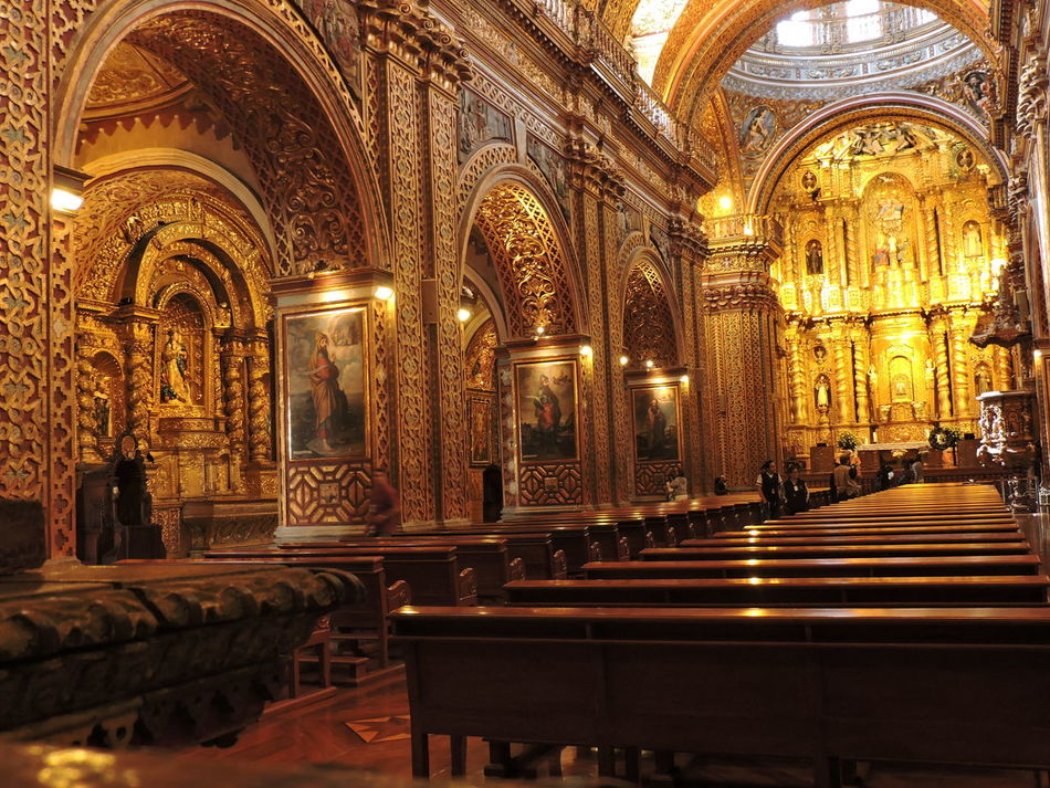 Architecture Travel Destinations Religion Centro Historico Photography Architecture Church City Quito Iglesia Católica  Quito Ecuador