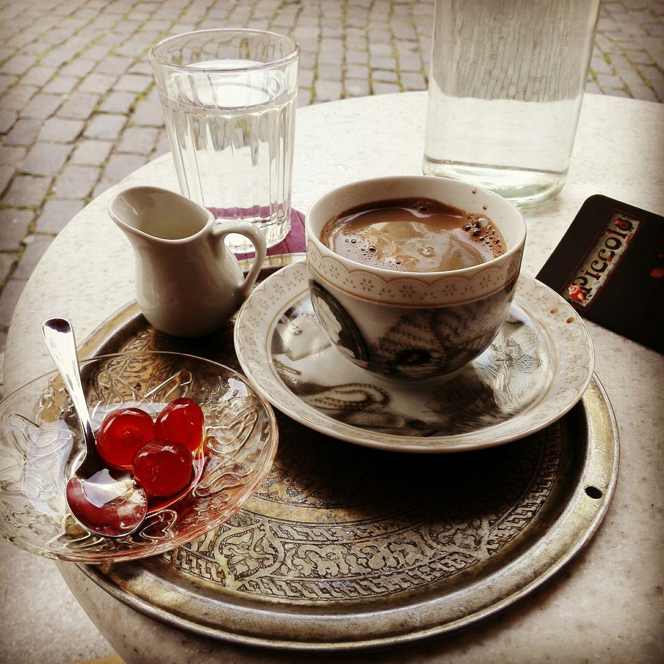 Greek Coffee  Sweet Good Morning World! Downtown Nice View