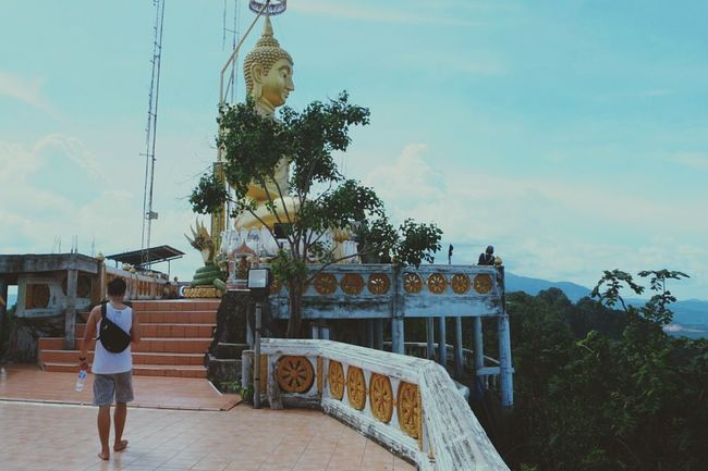 1237 Steps Up Photooftheday Photography Journey Is The Destination On The Way Mountain Top Tiger Cave Temple, Krabi Clouds Shotonsamsungs7 PhonePhotography Phonecamera