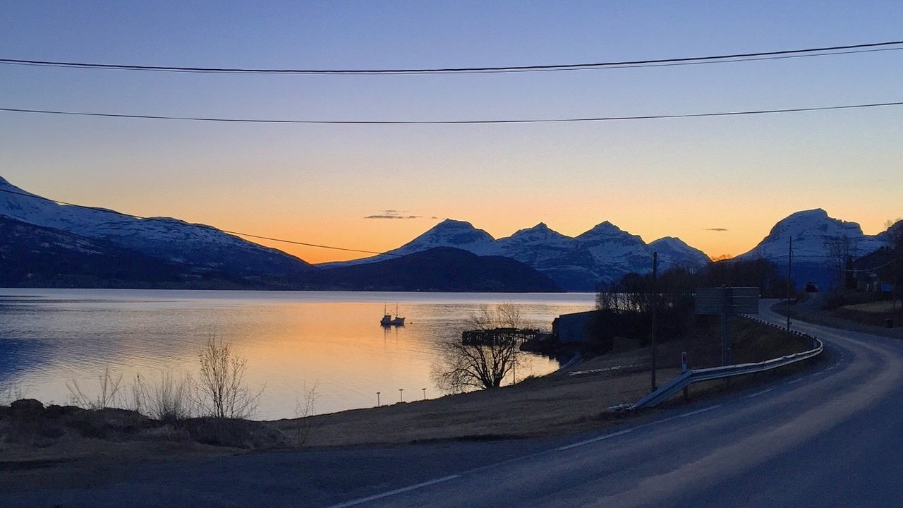 Nofilter Norway Norway Nature Northern Norway Sunset Fjord Tromsø First Eyeem Photo