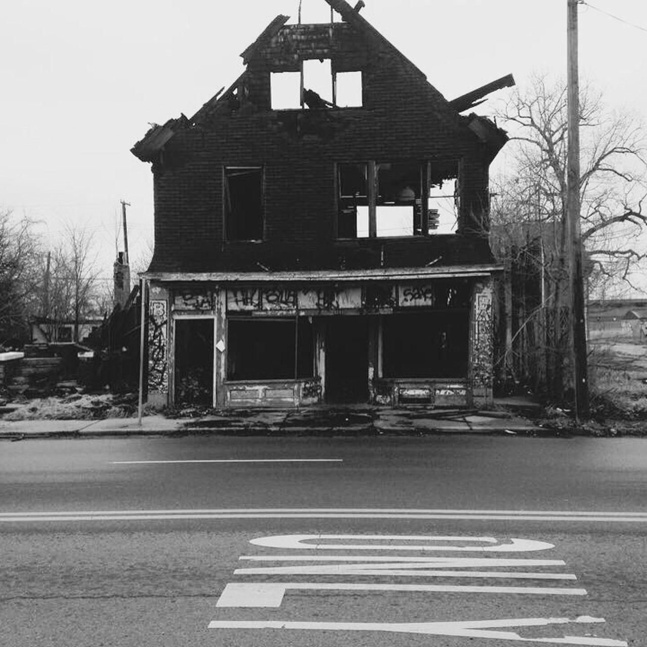 The Architect - 2017 EyeEm Awards Detroit Slums Burnt House