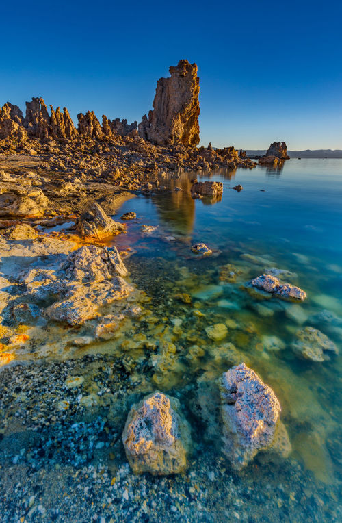 Morning has arrived The sun rose at Mono Lake, and it was a bright morning with clear sky. Another beautiful morning settled in at the lake. Mono Lake, California Adventure Beauty In Nature De Landscape Landscape Photograp Mono Lake Mono Lake Mountain Range No People Non Urban Scene Outdoors Refelction  Remote Rock Rock - Object Rock Formation Sky South Tufa Stones Tranquil Scene Tranquility Tranquility Travel Destinations Travel Photography Water
