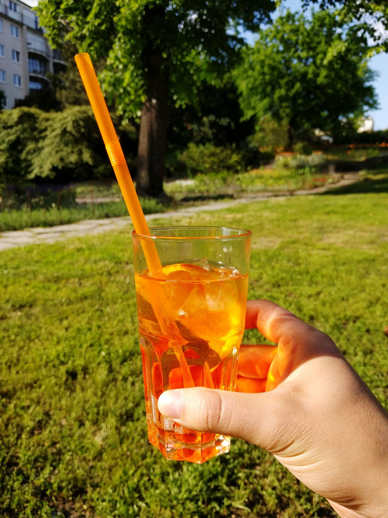 Cheers! Aperol Spritz