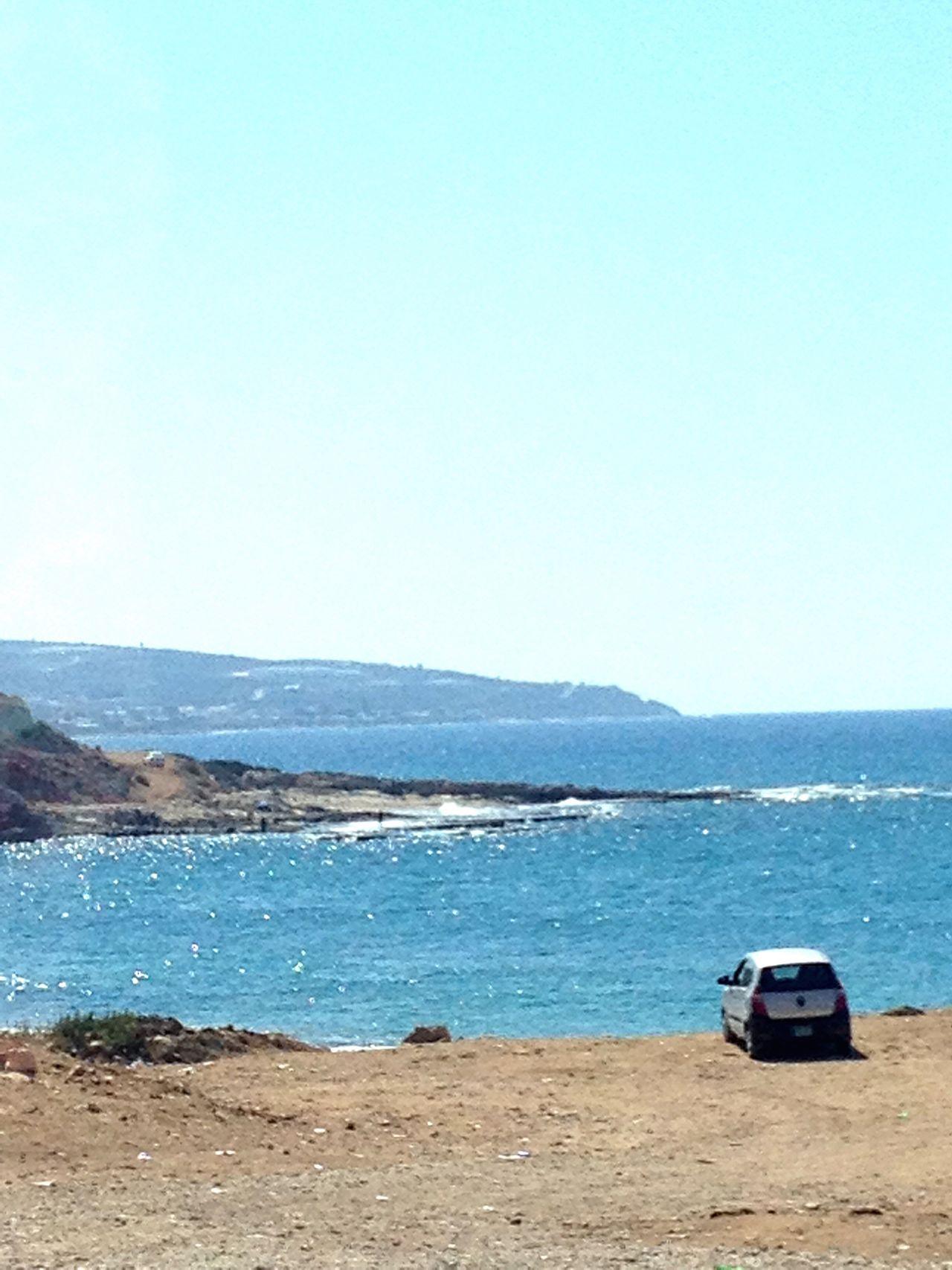 Bayyada Mediterranean Sea Blue South Lebanon Lebanon East Mediterranean Man And Nature