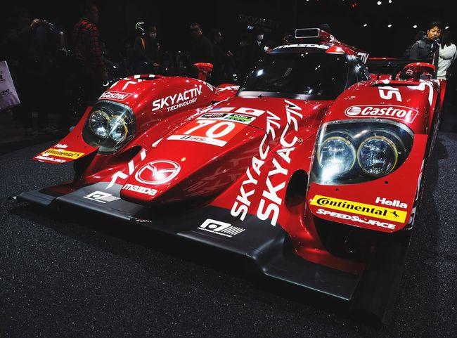 Mazda LMP2 SKYACTIV-D Tokyo Auto Salon 2015 Racing Car Sexy Car Le Mans 24 Le Mans Car Cars Car Porn Car Show Enjoying Life 東京オートサロン 東京オートサロン2015
