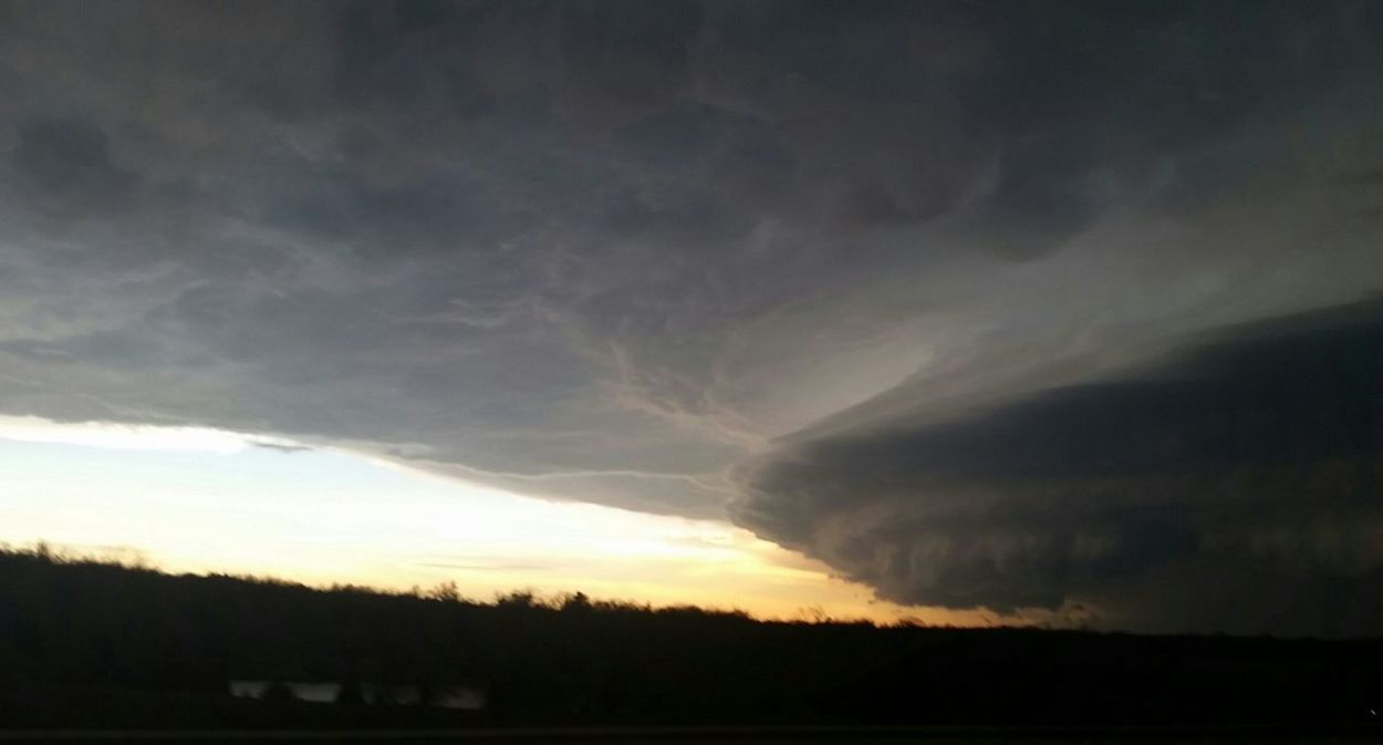 Oklahoma Moore OklahomaExtreme Weather Tornado Forming Super Cell Clouds And Sky Stormy Weather Storm Clouds
