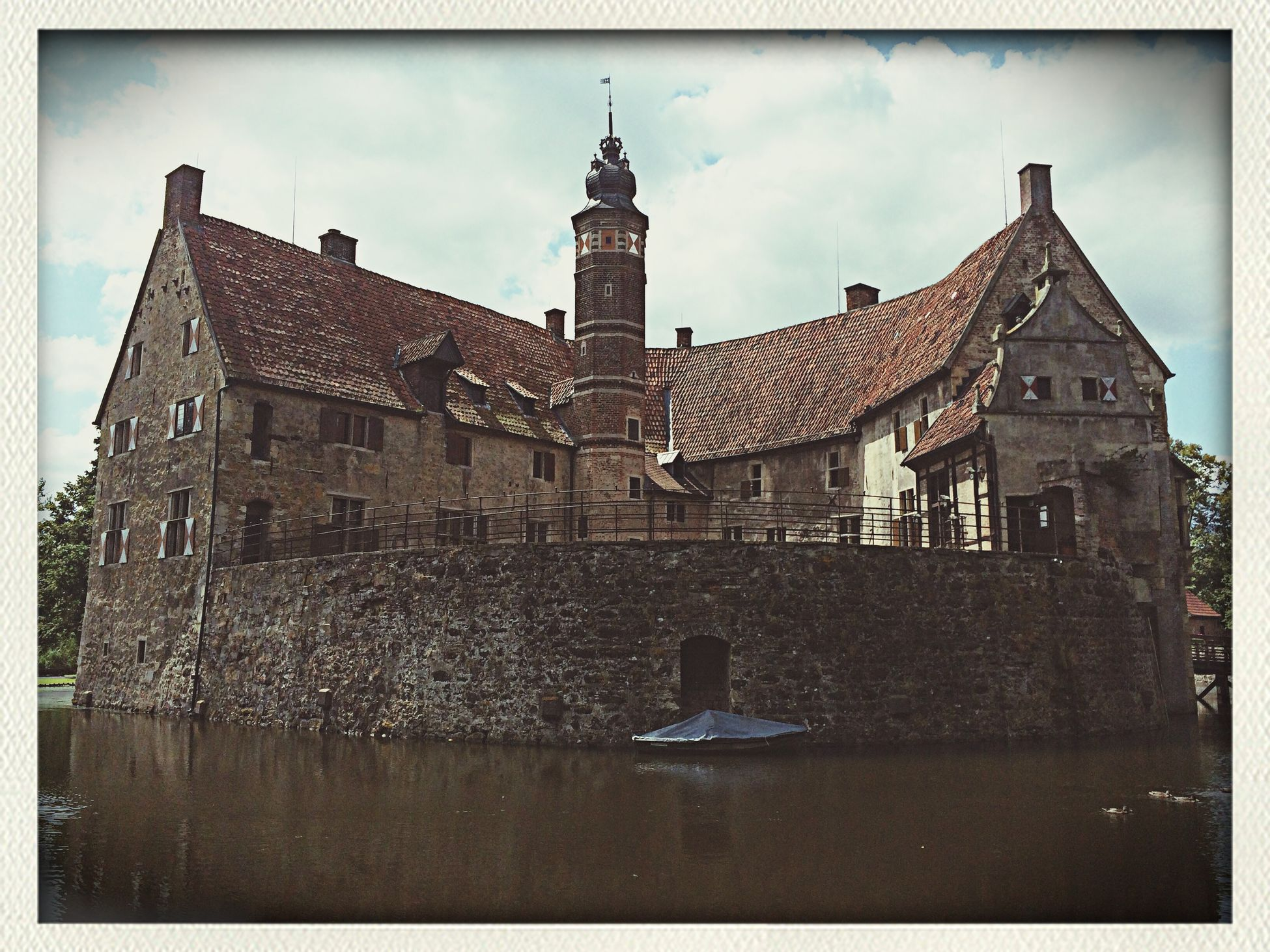 Clouds Summer Burg Vischering
