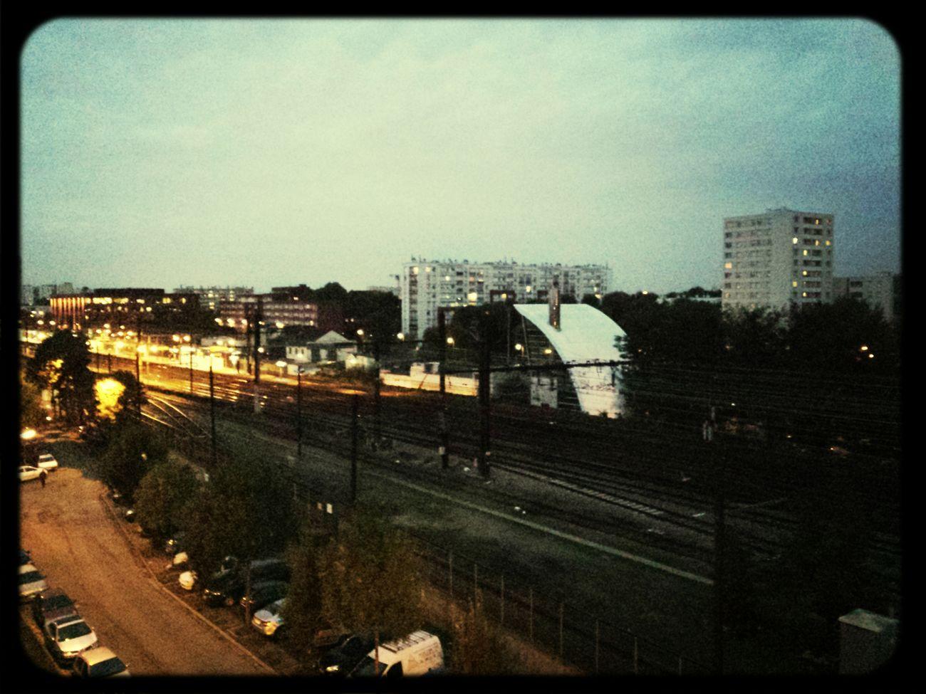 RER D Railwaystation Train Paris