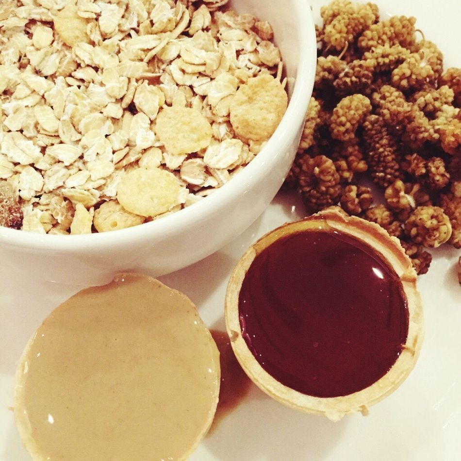 Oats Granola Muesli with Tahini Honey Mulberry in Turkey Hotel Breakfast
