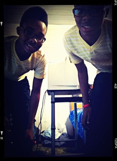 Me And My Twin Lol