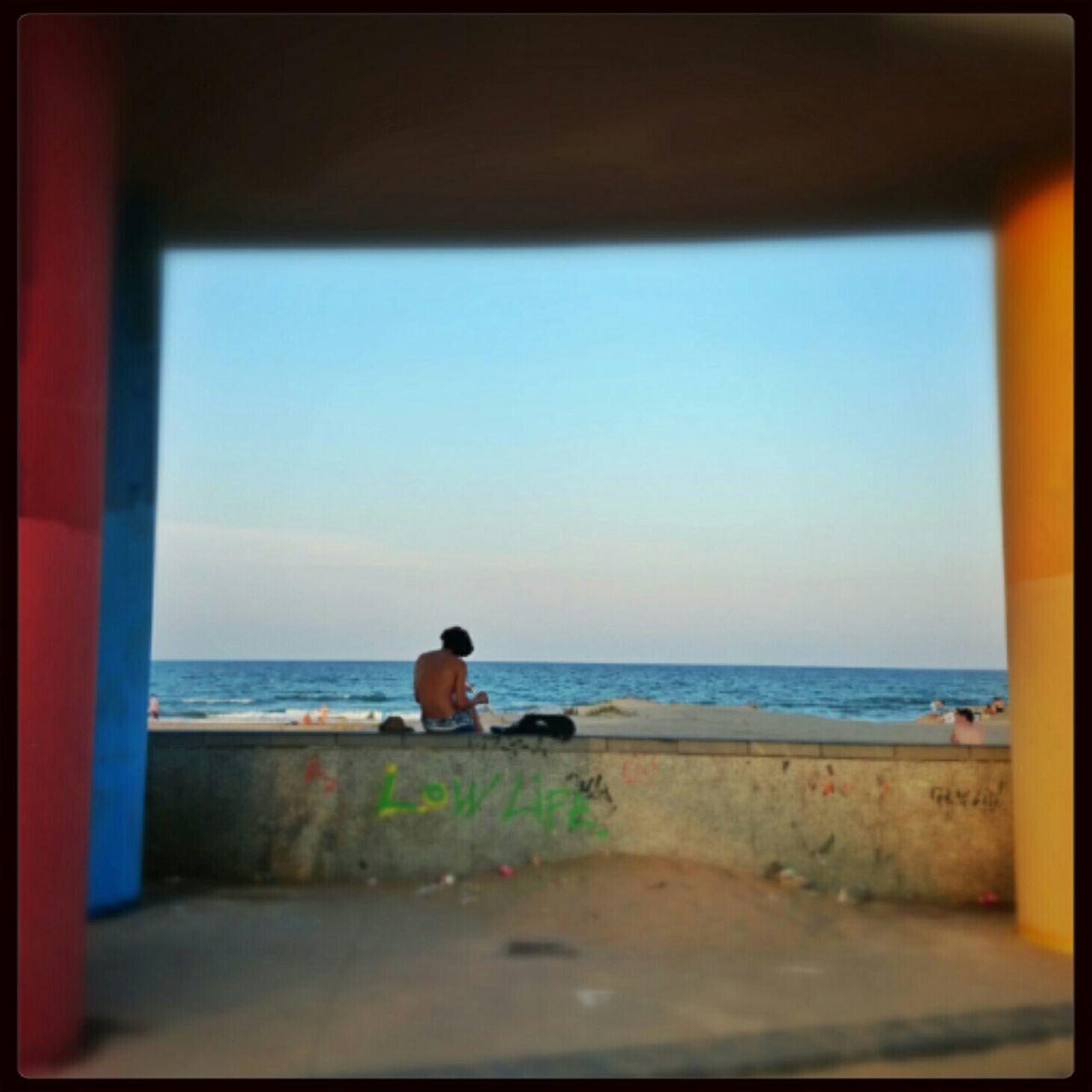 Beach evening Sonyxperiaz2 Snapseed SPAIN València