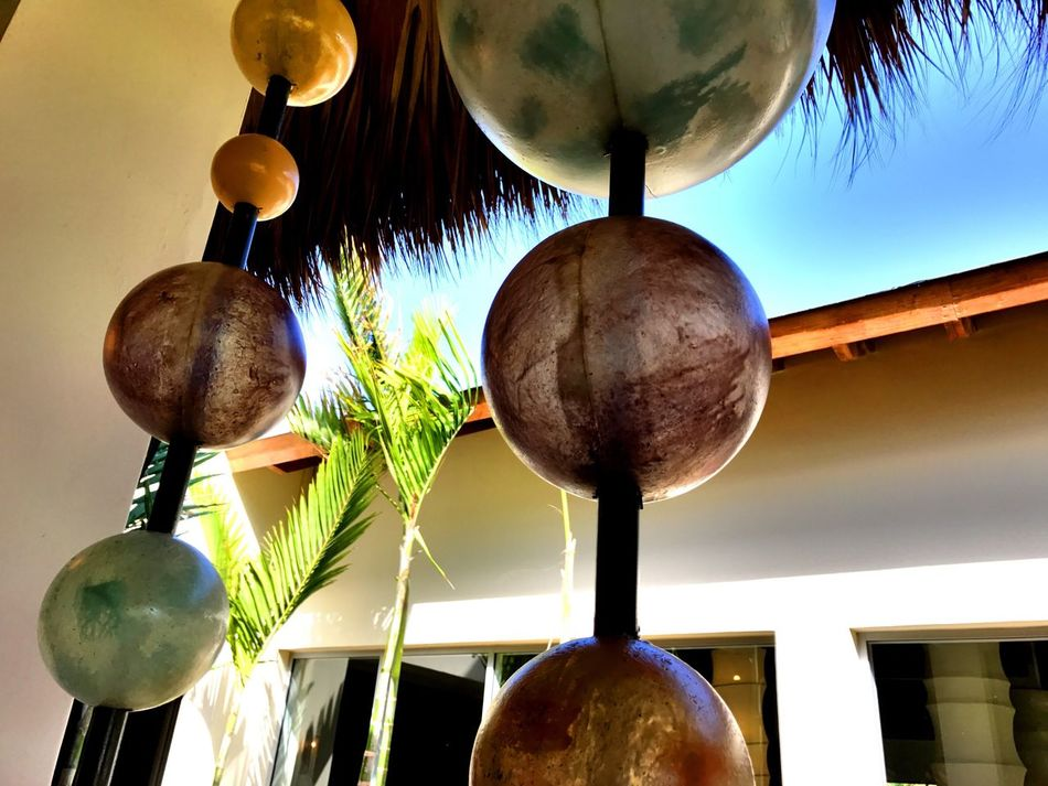 Bullets Hanging Low Angle View Close-up Sky Nature Indoors  Freshness Day Sculpture Clear Sky Restaurant Decor Art Is Everywhere