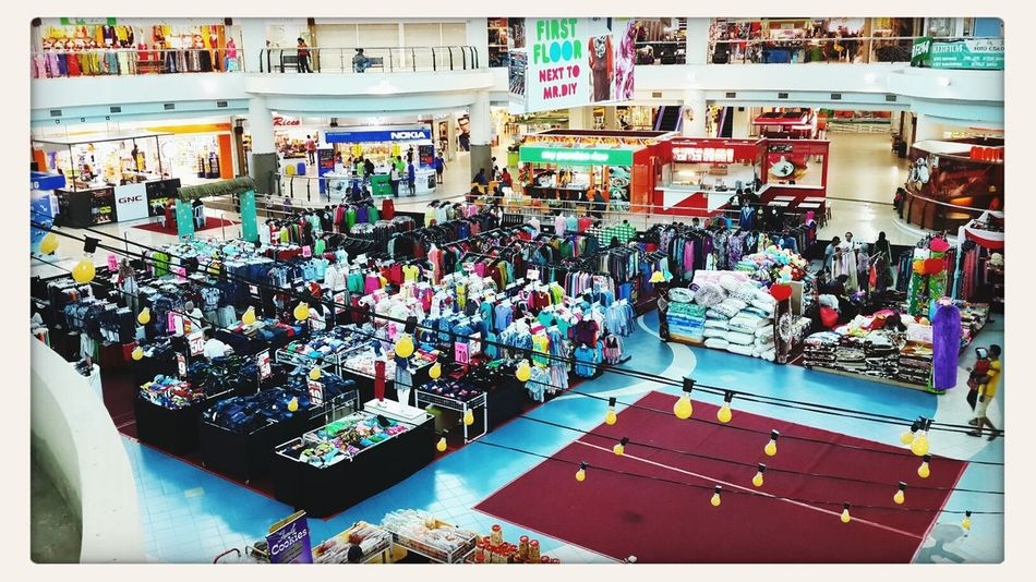 Suasana Bulan Puasa.. Shopping