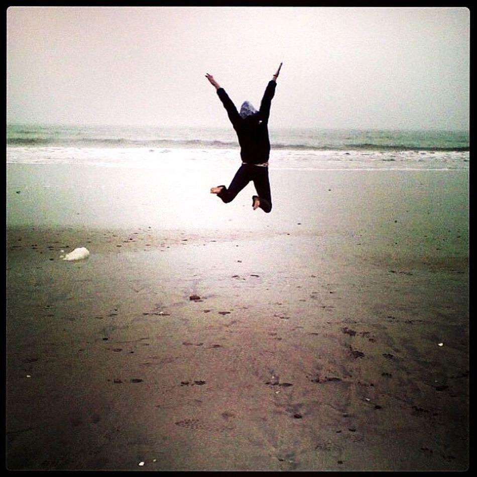 Beachlife Coastal California HalfMoonBay Jumpforjoy MIRAMAR