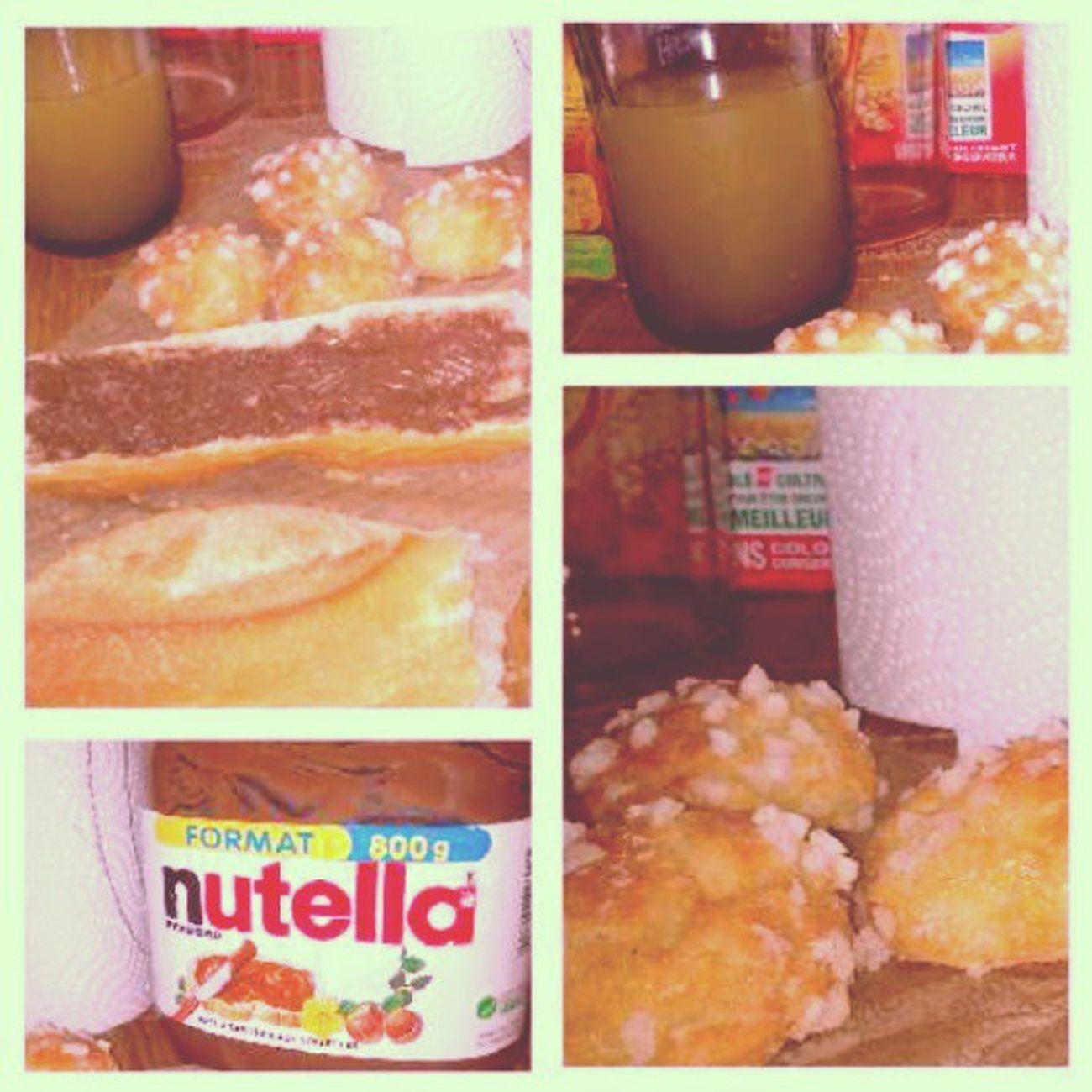 Mon Petitdej Petit -déjeuner est doux genre les pub haha bon app :) Instafood