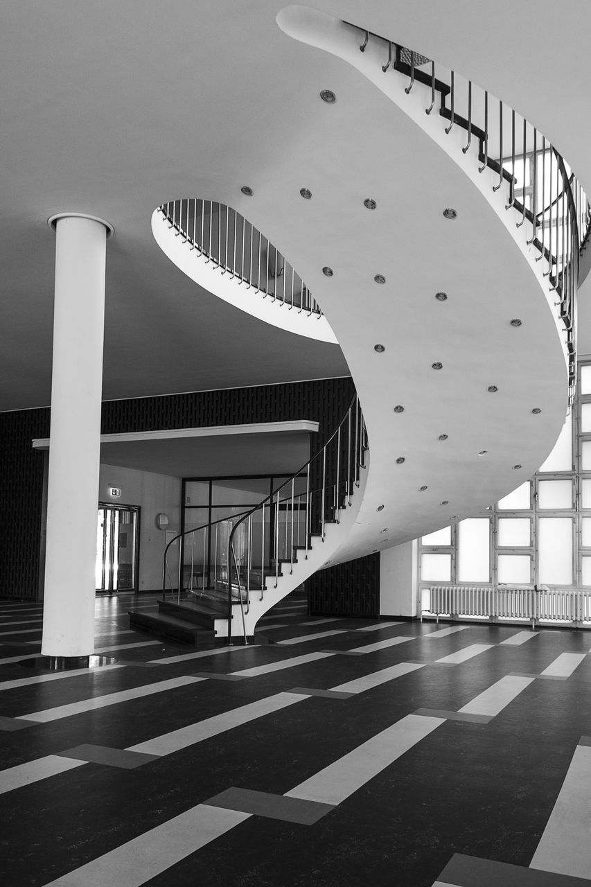 built structure, architecture, modern, indoors, sunlight, corridor, travel destinations, architectural column, no people, building exterior, day, city