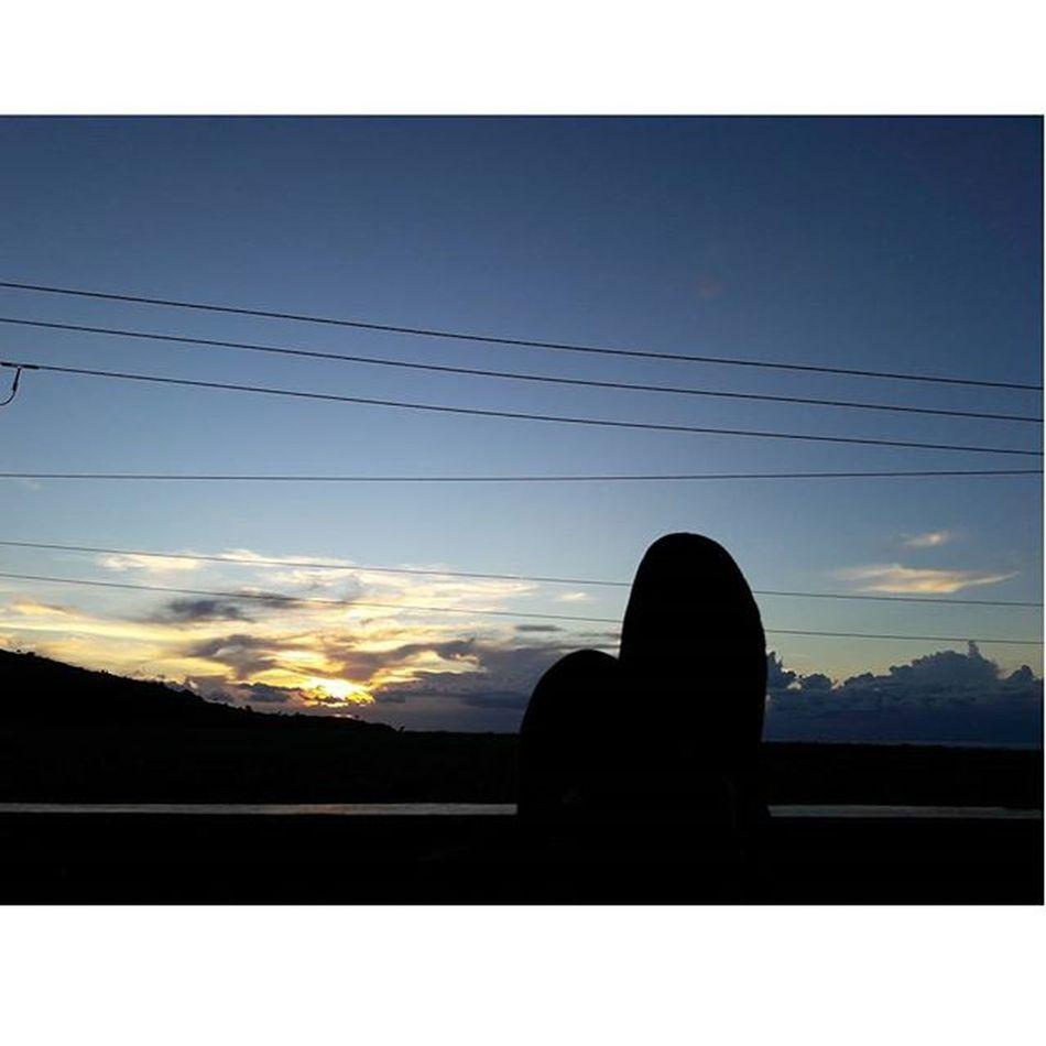 Chill. Instamood Instapic Sunset Nike Roshe  Home Landscape Nightout Igersmauritius