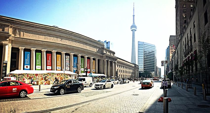 Toronto Pan Am Unionstation CN Tower Cityscapes Cityscape IPhoneography City City Life
