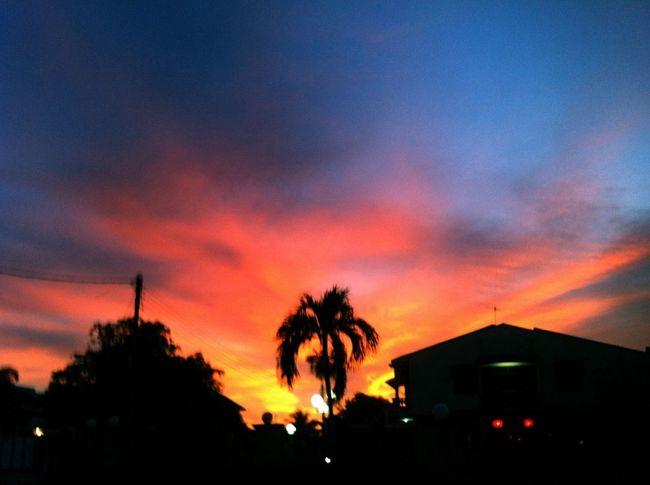 The Sky is Burning Taking Photos Sunset Alorsetar