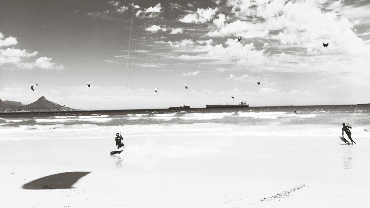Beach Kitesurf Kitesurfing Capetown