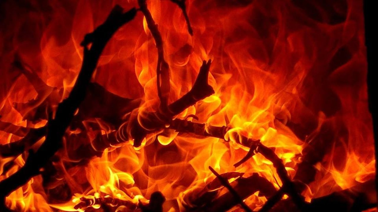 flame, heat - temperature, burning, red, no people, close-up, inferno, yellow, nature, outdoors