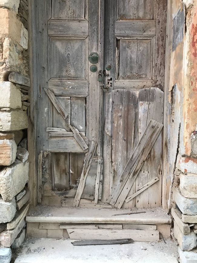 Door Architecture Wood - Material Abandoned Weathered Old Ruin First Eyeem Photo