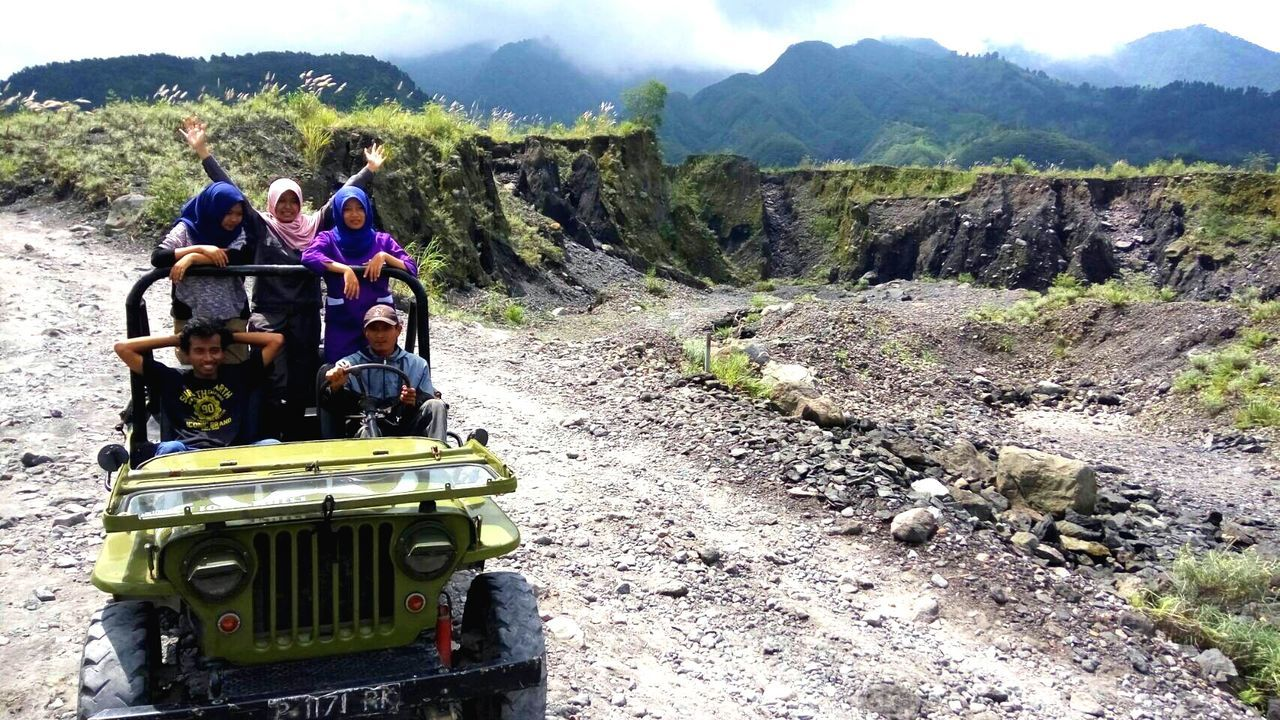 Lava tracking in Merapi volcano, Indonesia Volcano National Park Nature Photography Beauty In Nature Outdoors Adventure Mountain The Drive Transportation Jeep Willys Jeep Life