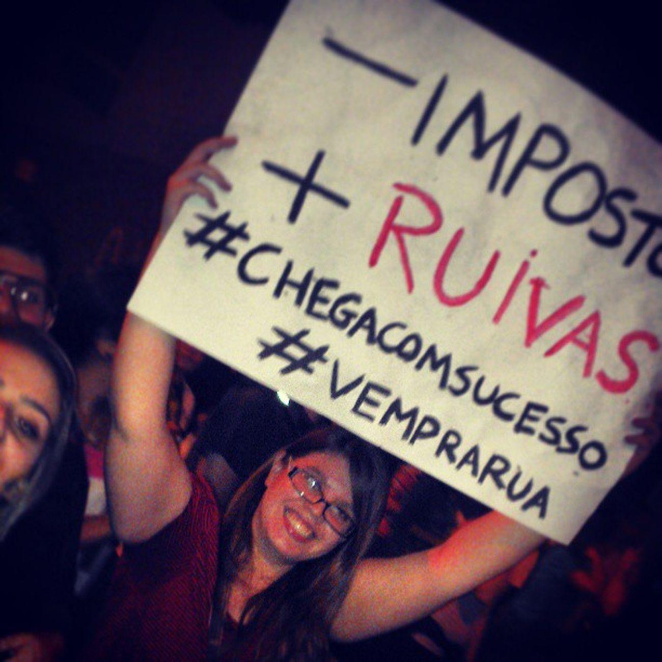 Minha linda Mariana Protesto Fomosprarua Muito feliz ogiganteacordou... ! Vamos transformar o brasil