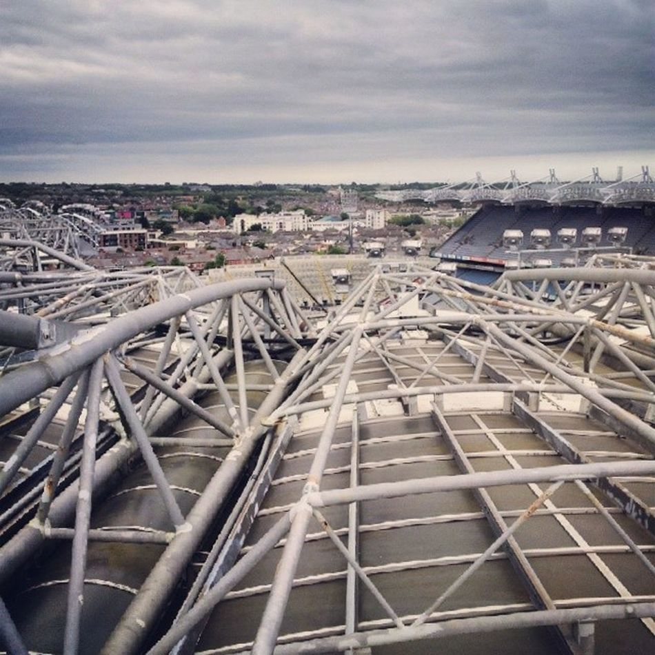 on the top of CrokePark