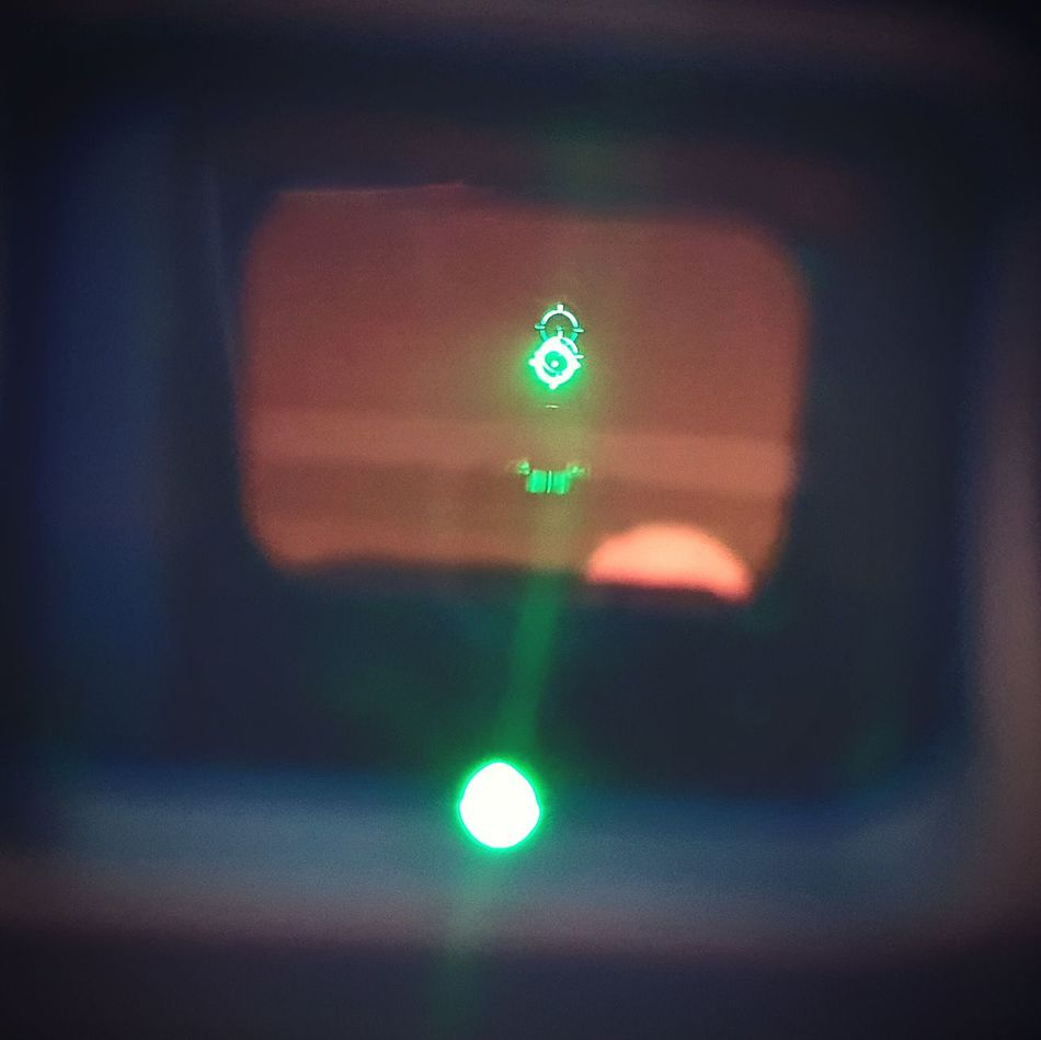 Optics Green Dot Sights Tactical My View Weapon Sights