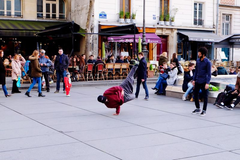Beaubourg Paris (Feb. 2016) Dance Breakdancing