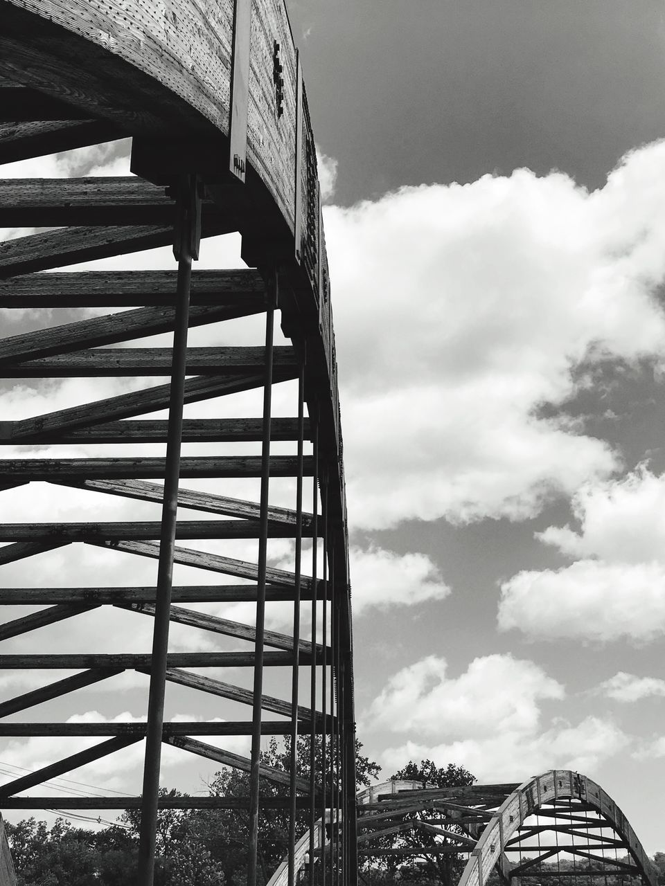 low angle view, sky, built structure, cloud - sky, architecture, day, no people, outdoors, building exterior