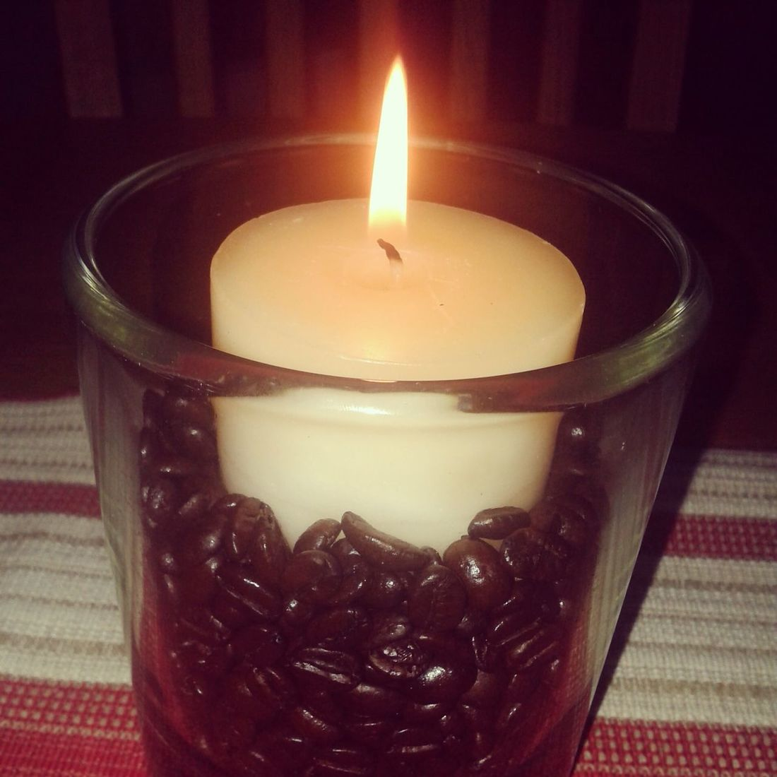 Lit a vanilla candle to calm me down, while I was stressing out. Helped a little bit. Candle Home Cozy Keep Calm