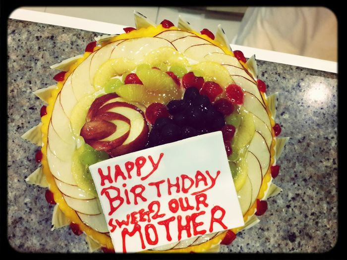 very special cake 4 my very sweet special MOM