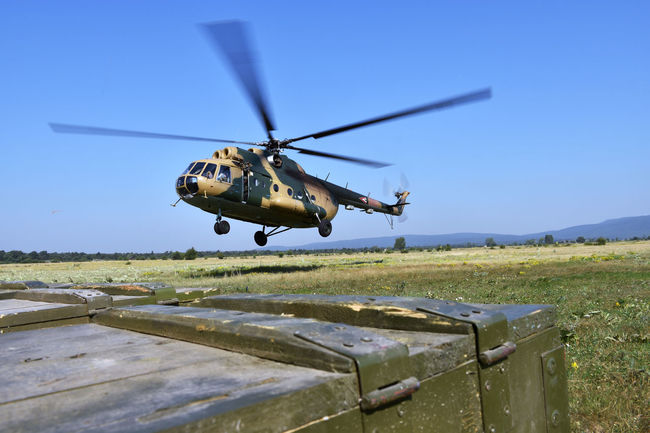 Express Delivery Mi-8 Helicopter Transport Airlift Military Airforce