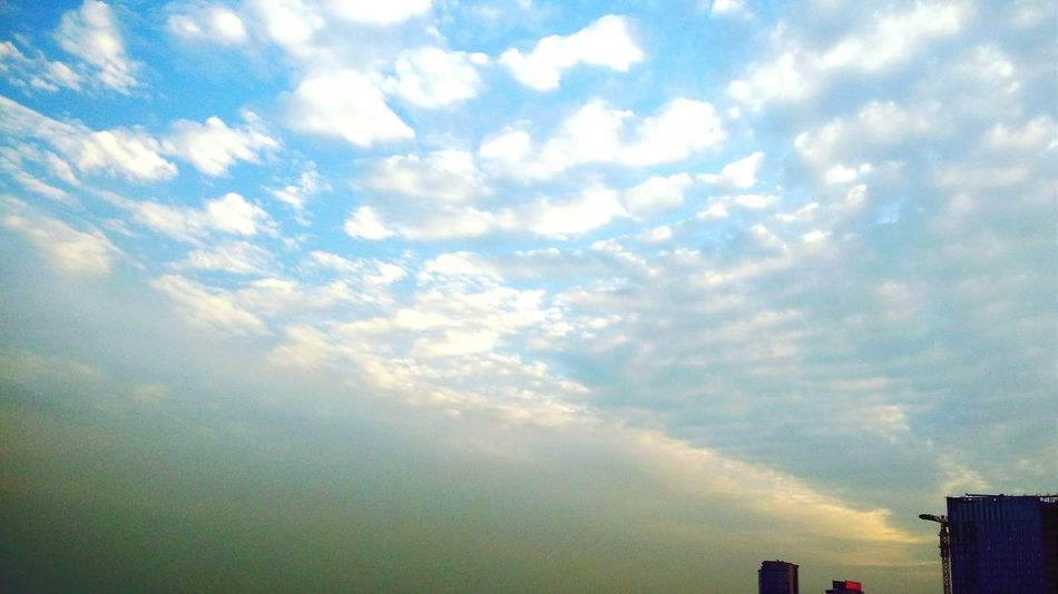 Over The Clouds Sky And City Just You And Me ♡♡